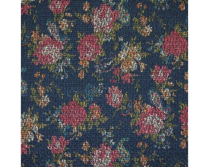 Floral Glazed Tapestry