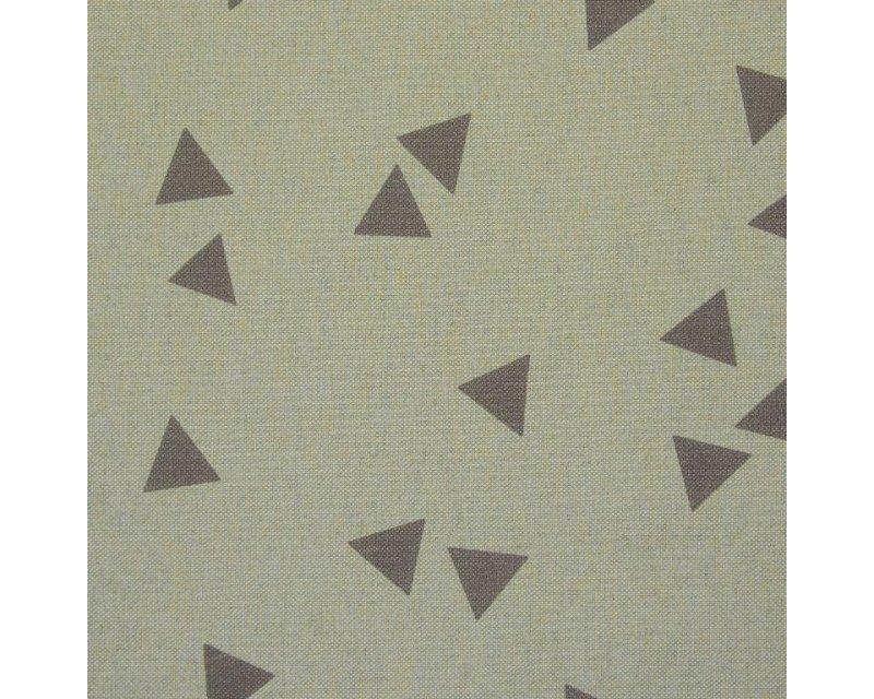 Linen Look Canvas Geometric