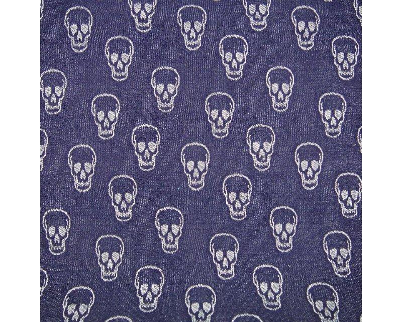 Skulls Knit Jersey