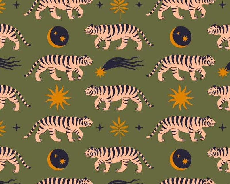 Little Johnny - Boho Moon Tiger Cotton