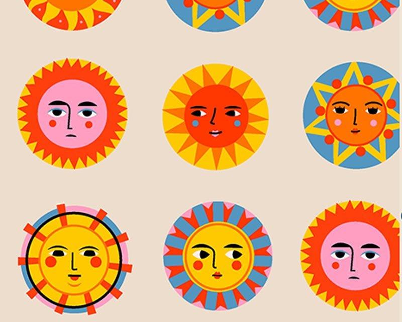 Little Johnny - Sunshine Faces Cotton