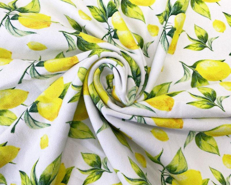 Little Johnny - Lemons Cotton Jersey *Limited Stock*