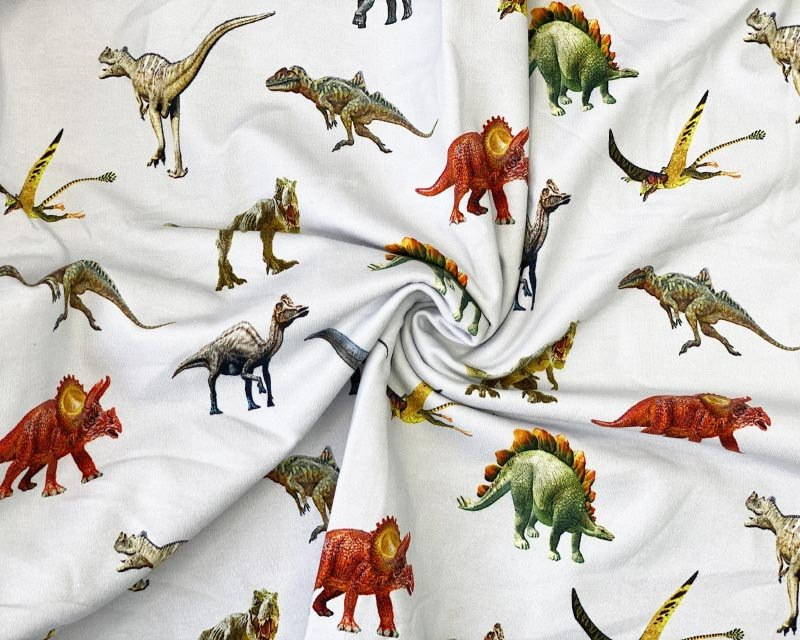 Little Johnny - Dinosaurs Cotton Jersey *Limited Stock*