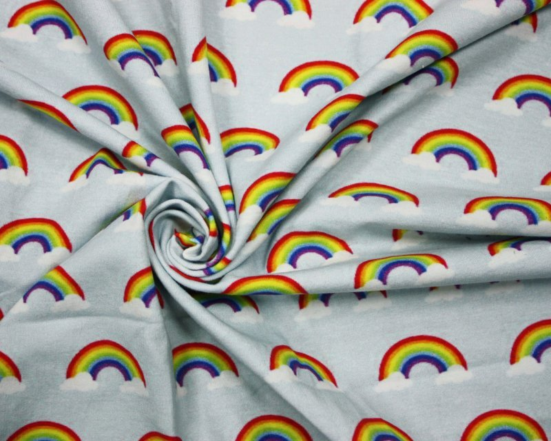 Little Johnny - Rainbows Cotton Jersey *Limited Stock*