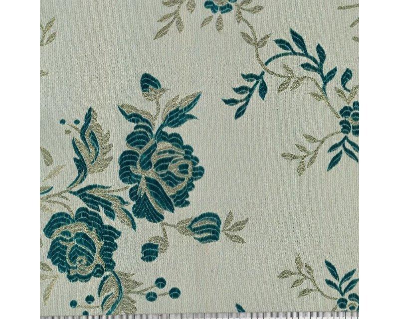 Floral Metallic Brocade