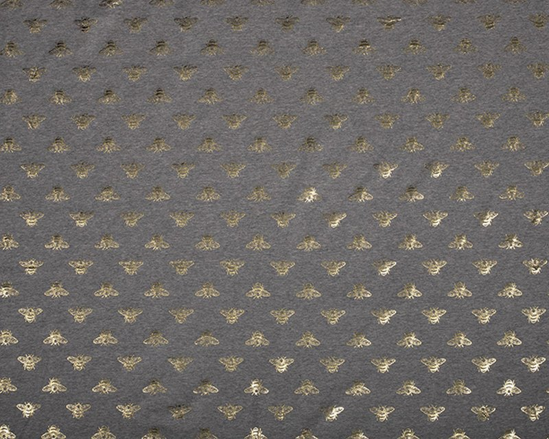 Bee Foil Cotton Jersey