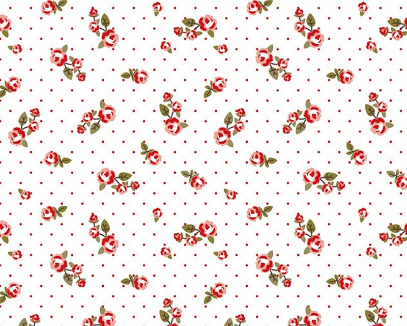 Spot Rose Cotton Jersey