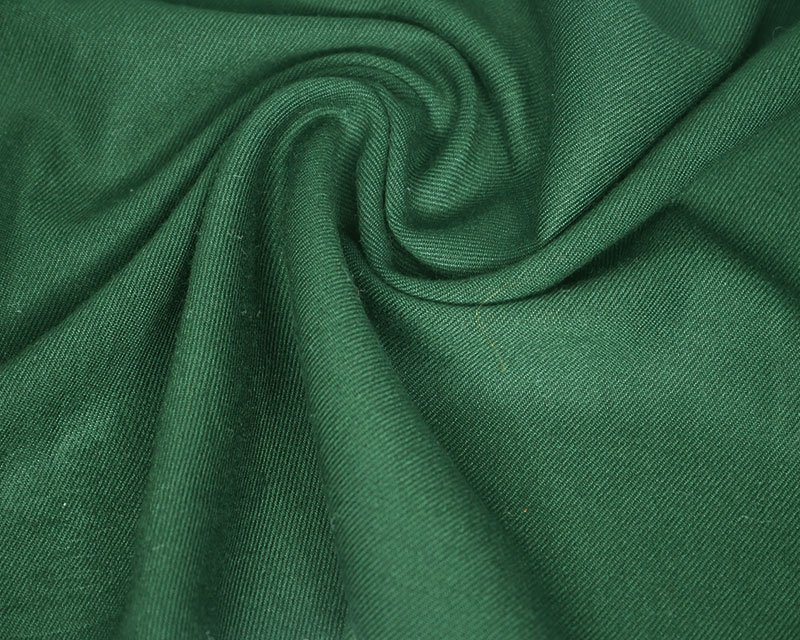 Plain viscose twill