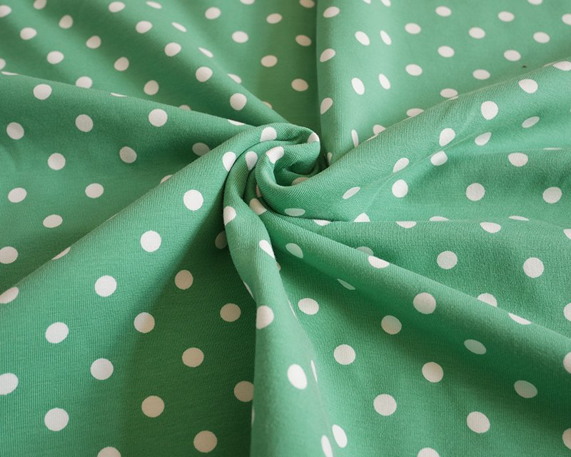 Pea Spot Cotton Jersey