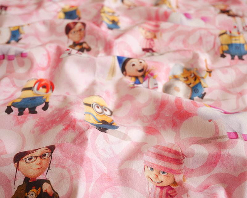 Disney's Minions Marble Cotton