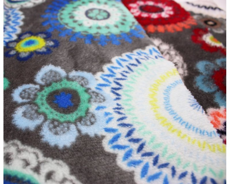 Reversible Mandala Cuddle Fleece