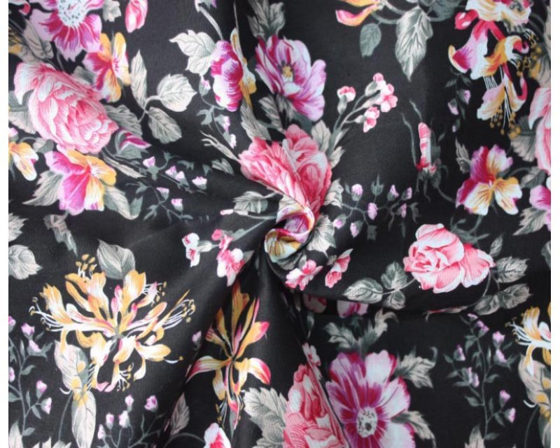 MP Vintage Floral Cotton Poplin
