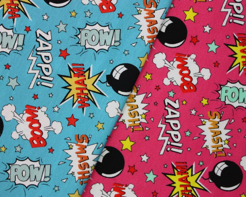 Little Johnny - Boom Pow Wow Cotton Jersey