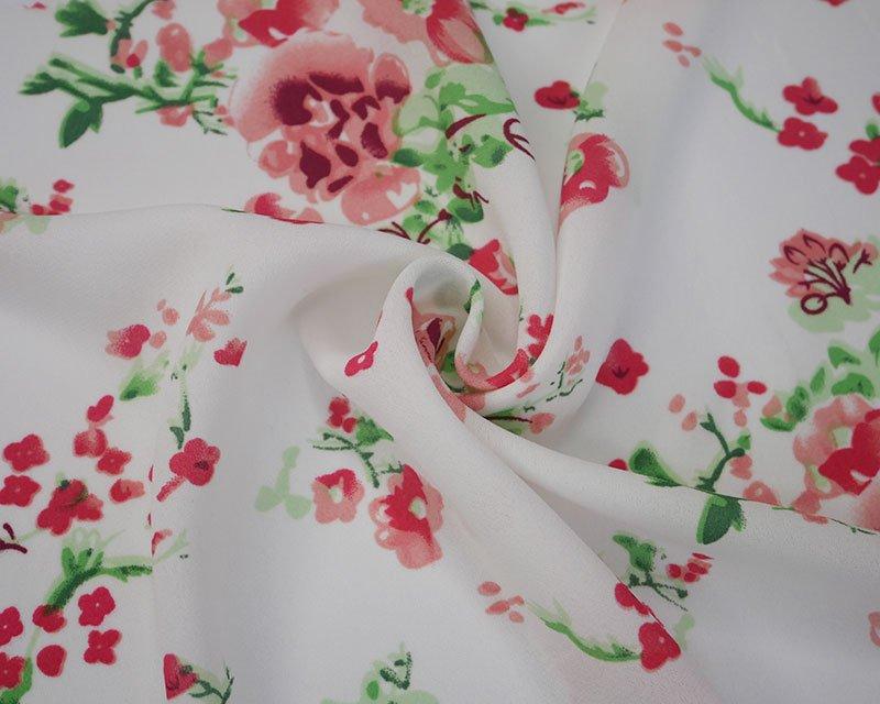 Ditsy Flower Crepe De Chine