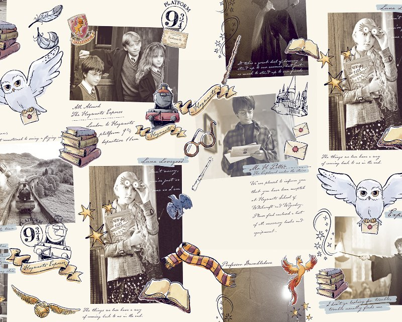 Little Johnny - Harry Potter Notebook Cotton