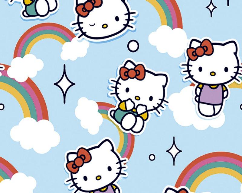 Little Johnny - Hello Kitty Rainbows Cotton