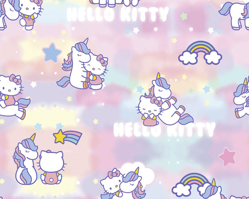 Little Johnny - Hello Kitty Candy Floss Cotton