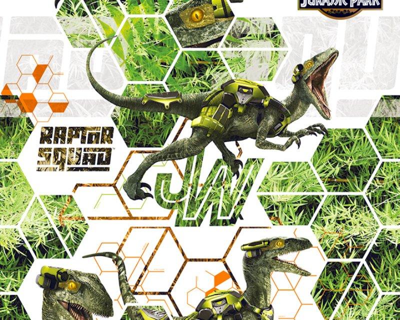 Little Johnny - Jurassic World Raptor Squad Cotton