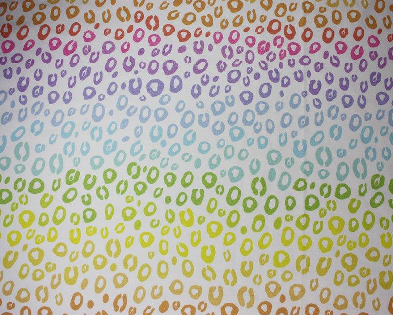 Little Johnny - Rainbow Leopard Cotton Jersey