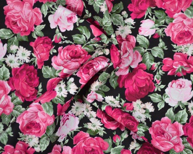 Roses Cotton Poplin