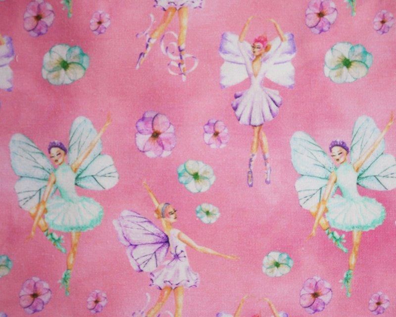 Ballerina Digital Cotton Jersey