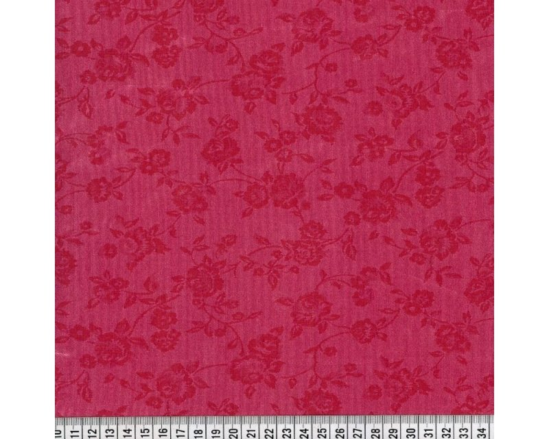 Embossed Flower Shantung