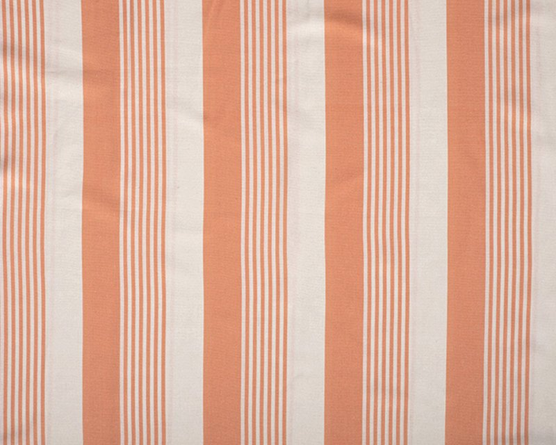 Barcode Stripe Linen Mix