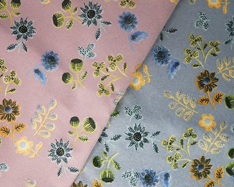Poppy & Flowers Winceyette