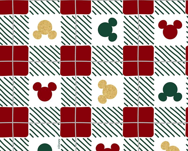 Little Johnny -  Disney Christmas Check - Mickey & Minnie