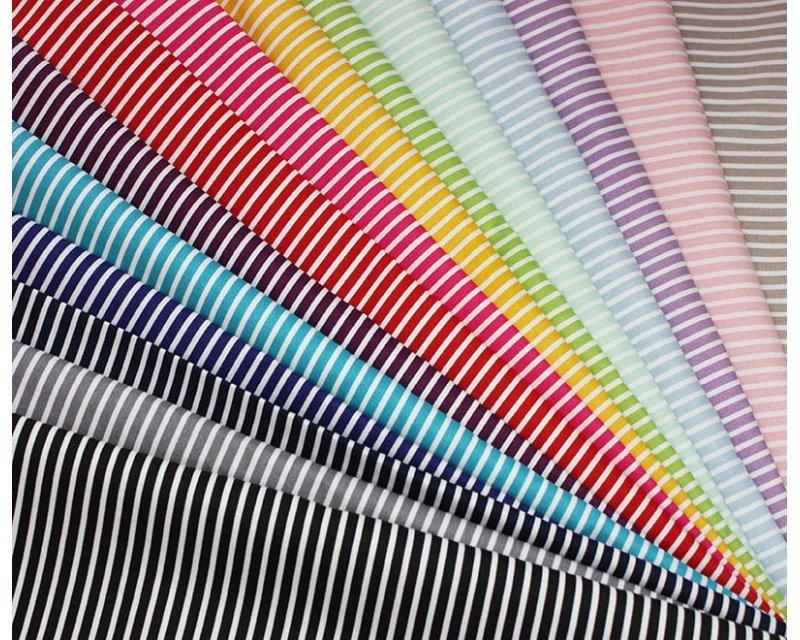 Candy Stripe Cotton Poplin