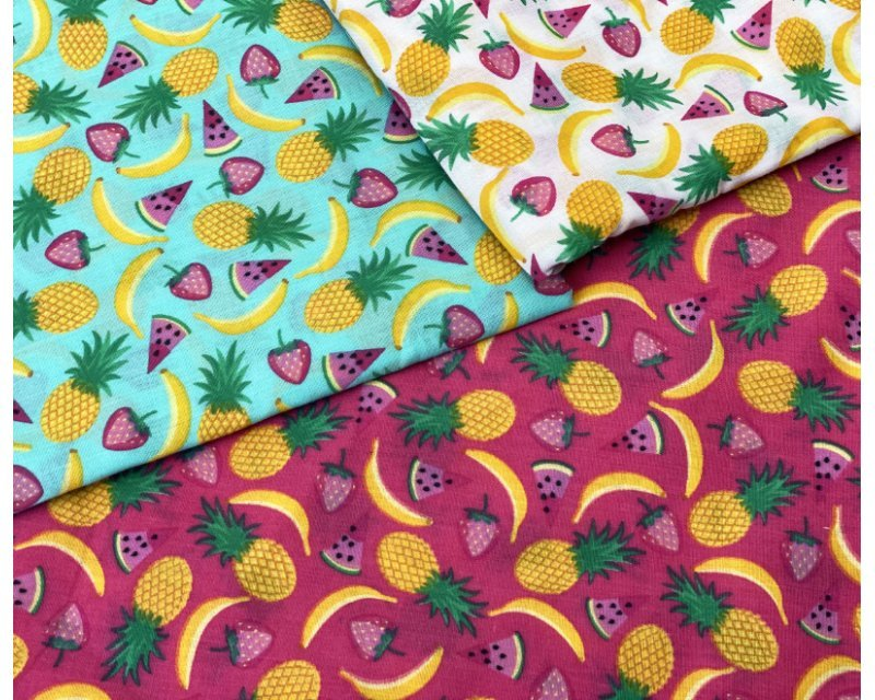 MP Fruit Salad Polycotton