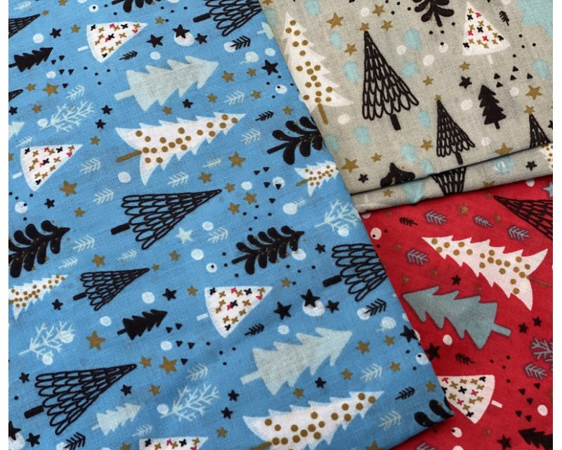 MP Xmas Tree Polycotton