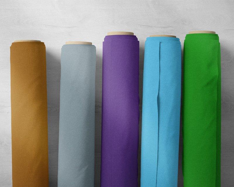 Assorted Plain Cotton & Plain Polycotton- Deadstock Bundle - Large