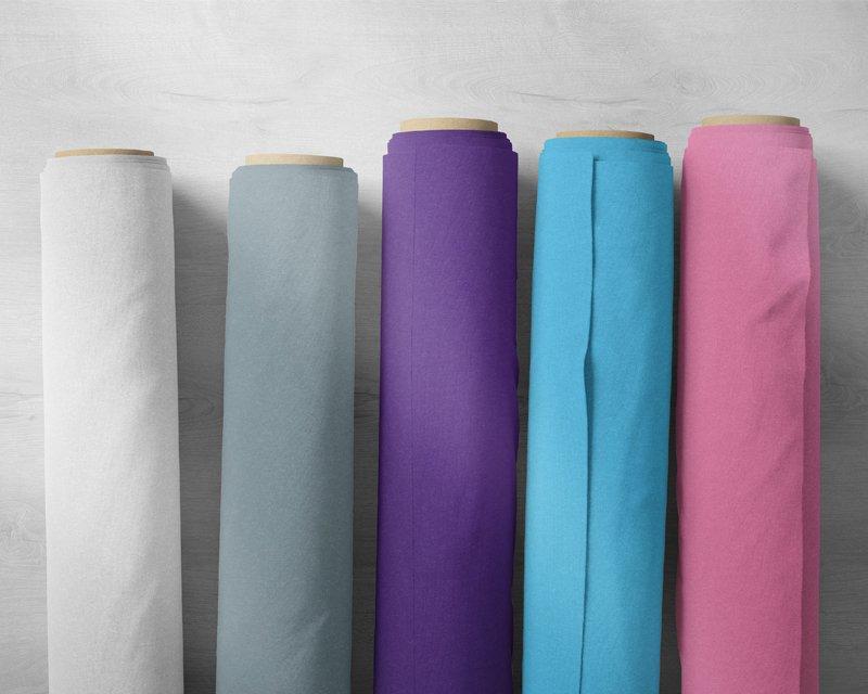 Assorted Plain Cotton & Plain Polycotton- Deadstock Bundle - Medium