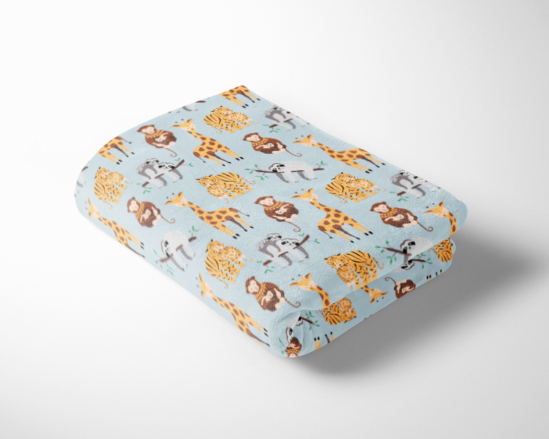 Baby Safari Cuddle Fleece