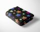 Neon Stars Cuddle Fleece