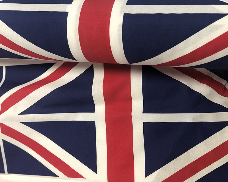 Union Jack Digitally Printed Cotton