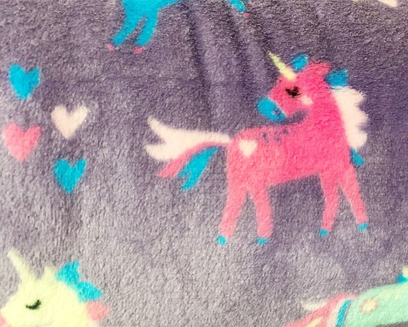 Unicorns Cuddle Fleece