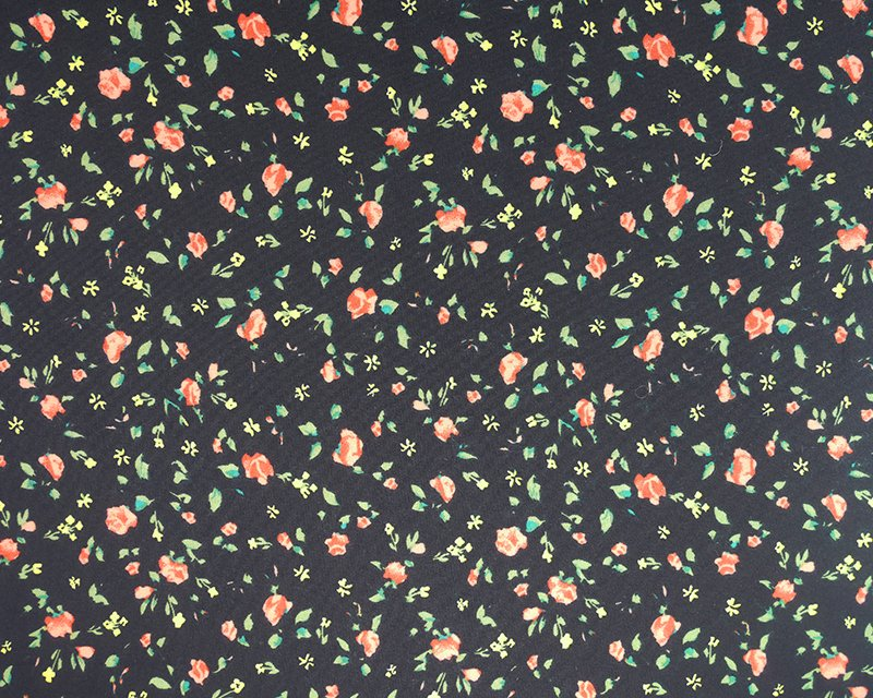 Ditsy Flowers Viscose