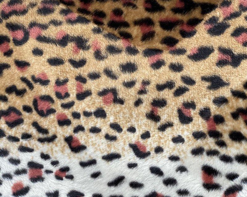 Leopard Print Velboa