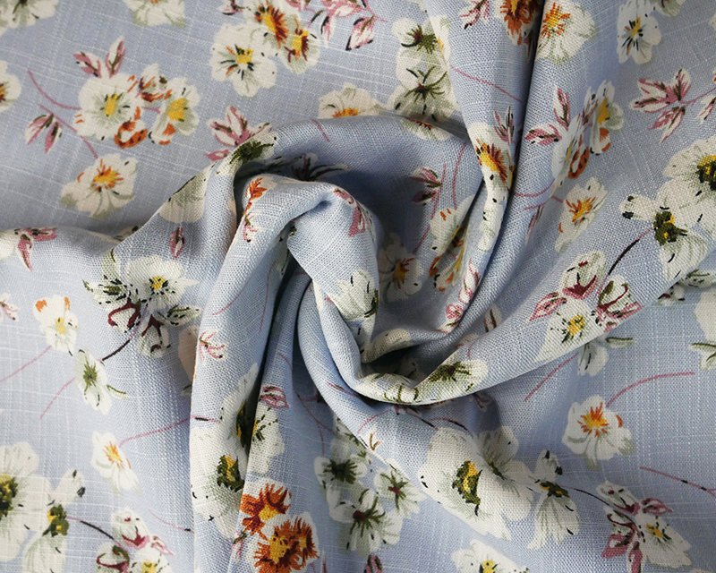 Fresh Flower Linen Mix