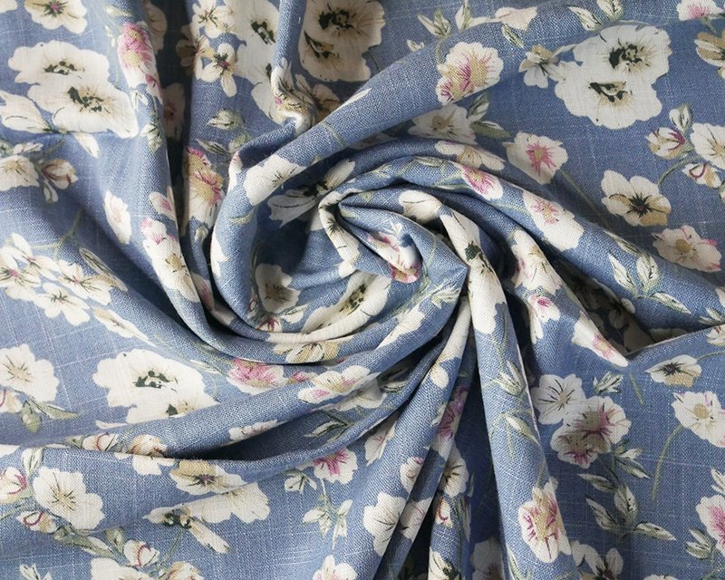 Pastel Flower Linen Mix