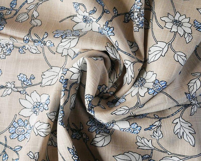 Simple Floral Linen Mix