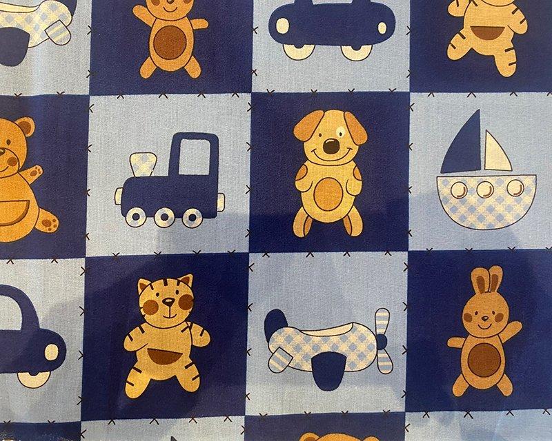 Sq Kiddie Animal Cotton