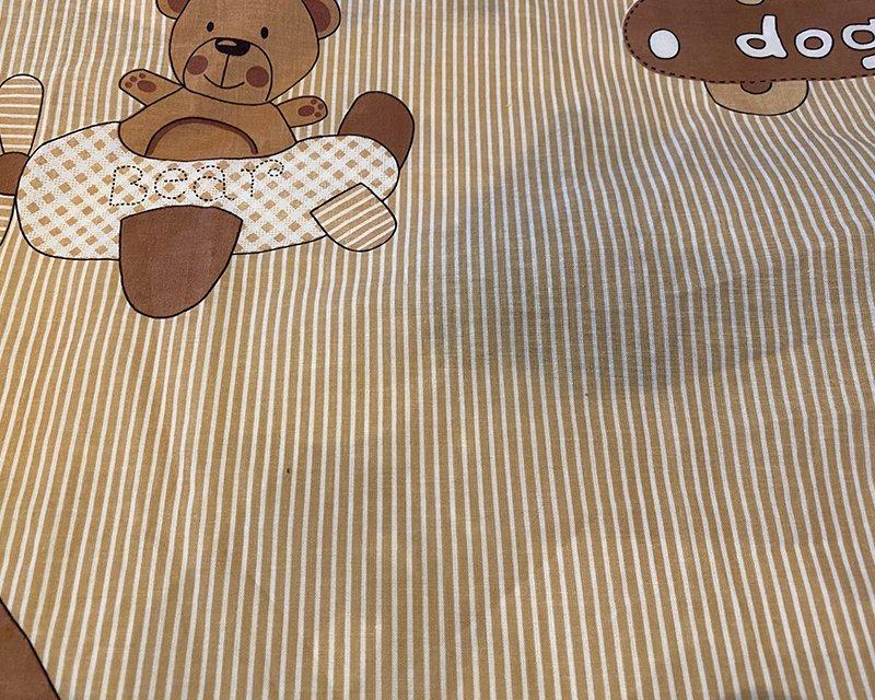 Stripe Kiddie Animal Cotton