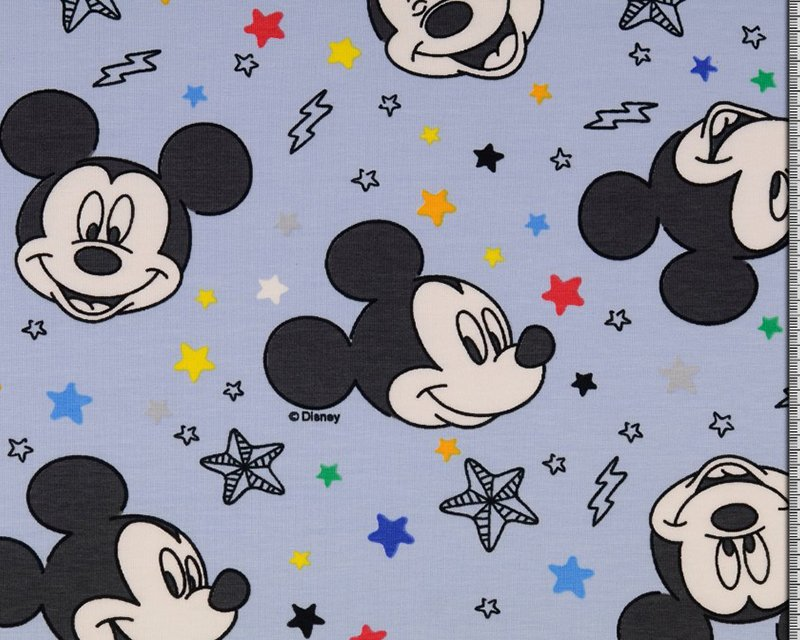 Disney Mickey Mouse Spotty Cotton Jersey