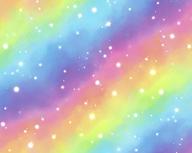 The Little Johnny Range Digital Rainbow Galaxy