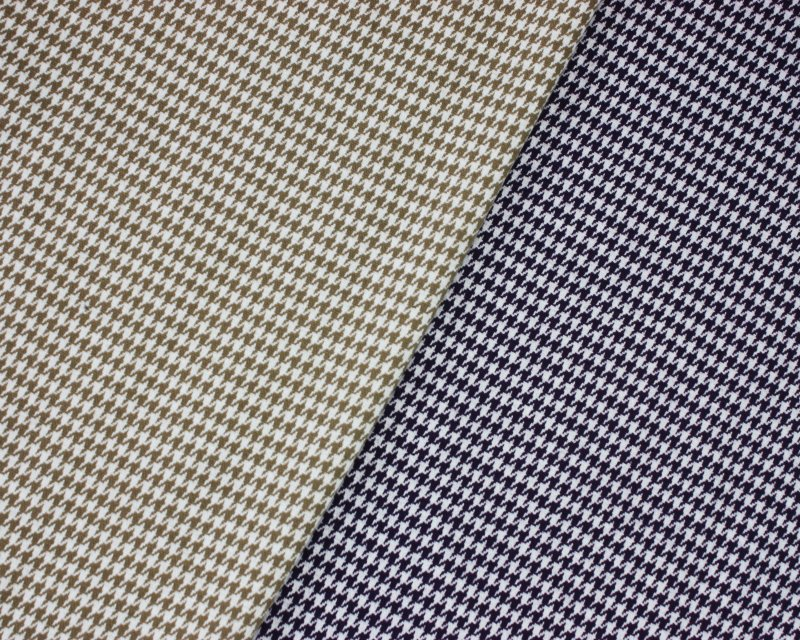 Dogtooth Polyviscose Jersey