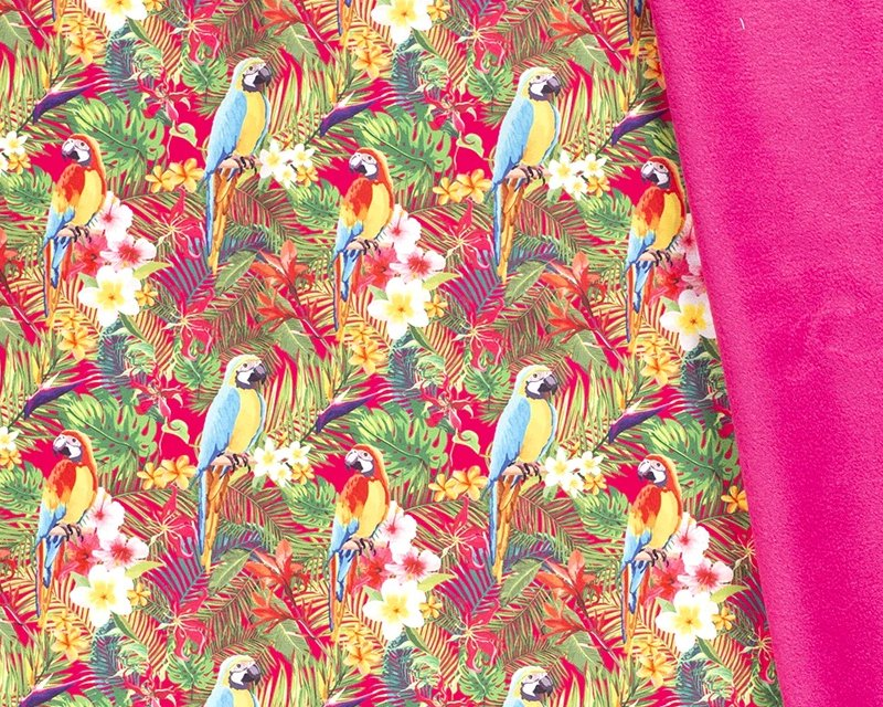 Neon Parrot Soft Shell