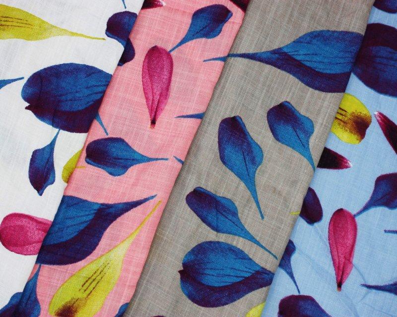 Petals Linen Look